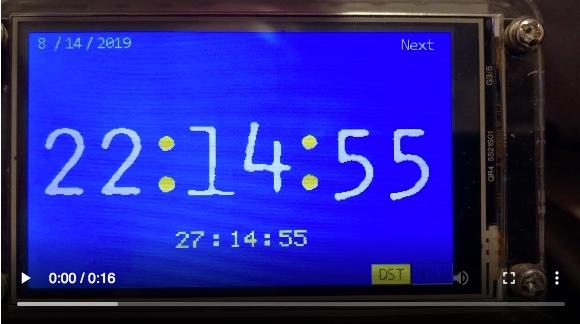 Clock – 15 min